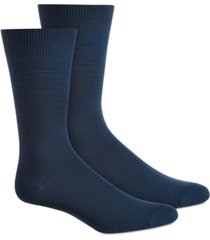 perry ellis men's textured stripes socks