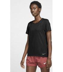 overhemd nike camiseta manga corta running mujer 890353