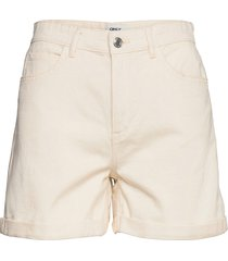 onlvega life hw mom shorts shorts denim shorts vit only
