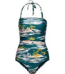 acapulco baddräkt badkläder multi/mönstrad scampi
