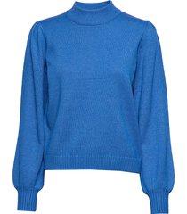 lola knit pullover gebreide trui blauw minus