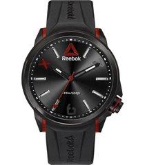 reloj flashline negro reebok