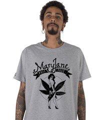camiseta masculina stoned mary jane