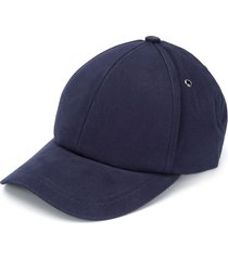 paul smith twill baseball cap - blue
