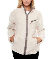 be boundless popcorn fleece zip jacket