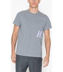 helmut lang masc little tee t-shirts & linnen heather