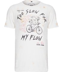 t-shirt masculina rx slow flow - off white