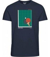 t-shirt korte mouw jack & jones camiseta manga corta hombre jack jones 12174080