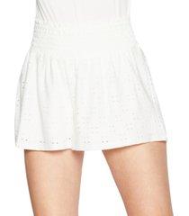 bcbgeneration smocked-waist shorts