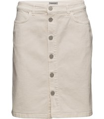 ecru denim skirt dam vit filippa k