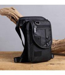 borsa a tracolla impermeabile in nylon leggero a tracolla per borsa da uomo