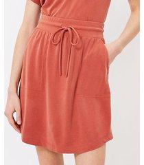 loft lou & grey sandwashed pocket skirt