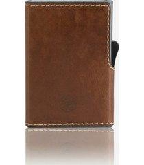 jekyll & hide texas card-slide wallet - clay 4308tecl