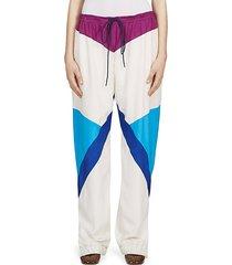 silk parachute pants