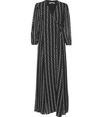 calynda 2 dress maxiklänning festklänning svart andiata