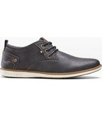 scarpe stringate mustang (grigio) - mustang
