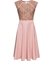 abito con pizzo (rosa) - bodyflirt boutique