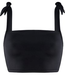 black sea bikini top zonder beugel | non-wired padded black - 70b/c