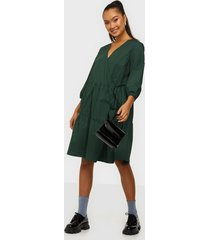 object collectors item objschinni l/s wrap dress pb8 loose fit dresses