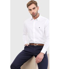camisa blanco brooksfield