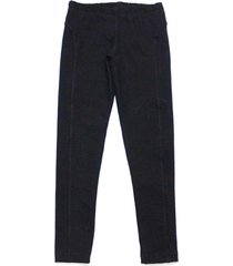 legging tóing! de cotton preto recortes