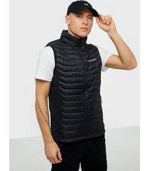 columbia powder pass vest jackor black