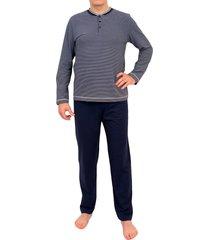 mey bodywear pyjama v-hals yacht