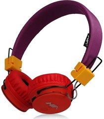 audífonos gamer, nia x2 gaming estéreo hd manos libres original auriculares bluetooth libre plegables deportivos con micrófono de apoyo tf tarjeta de radio fm (multicolor)