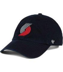 '47 brand portland trail blazers clean up cap