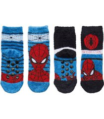 socks by x2 socks & tights non-slip socks multi/mönstrad marvel