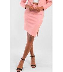 falda corta gamuza anita rosado night concept