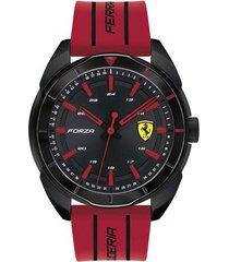 reloj ferrari modelo forza rojo hombre