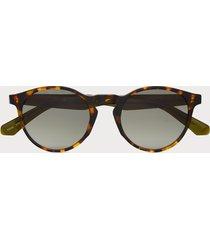 scotch & soda kinney - round-frame acetate sunglasses