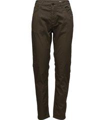 krissy 5 pocket rechte jeans groen hope