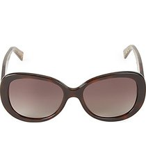 56mm rounded square sunglasses