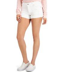 celebrity pink juniors' cuffed shorts
