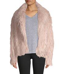 harika faux fur jacket