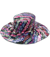 m missoni all-over print hat - pink