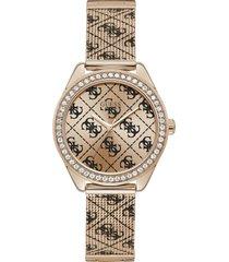 reloj guess mujer claudia/w1279l3 - oro rosa