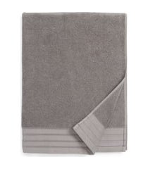 ugg classic luxe bath towel, size one size - grey