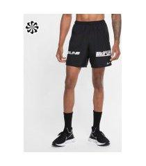 shorts nike challenger wild run masculino
