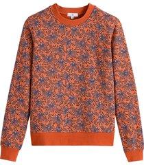 blommig sweatshirt