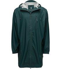 parka coat regenkleding groen rains