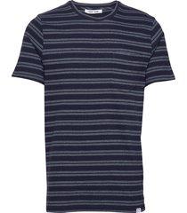 carpo t-shirt st 7888 t-shirts short-sleeved blå samsøe samsøe