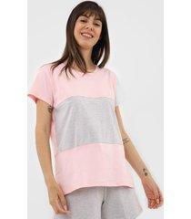 short-doll pzama recortes rosa
