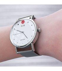 zegarek - japonia - metalowy