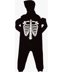 pijama negro licences group kigurumi enterizo esqueleto