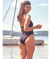 icon palma non-wired strappy back shaping one-piece swimsuit