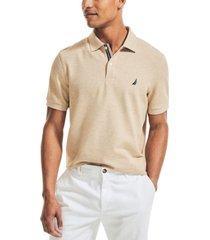 nautica men's classic-fit solid deck polo shirt