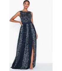 maya all over sequin maxi dress maxiklänningar